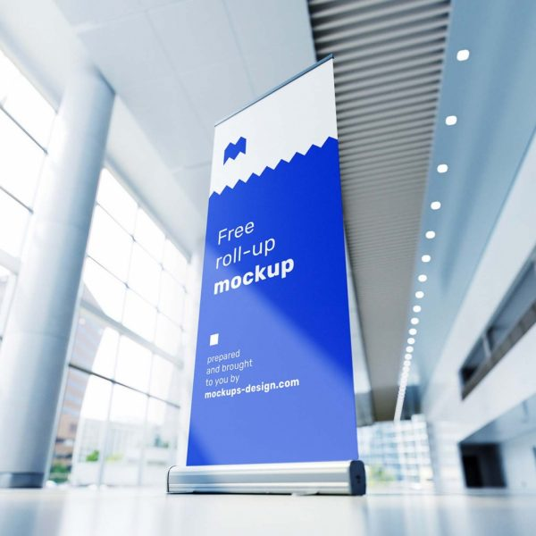 Rollup Exhibition stand printing in qatar