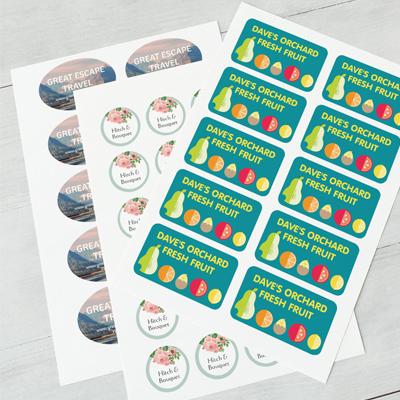 best sticker designer and printing service in qatar