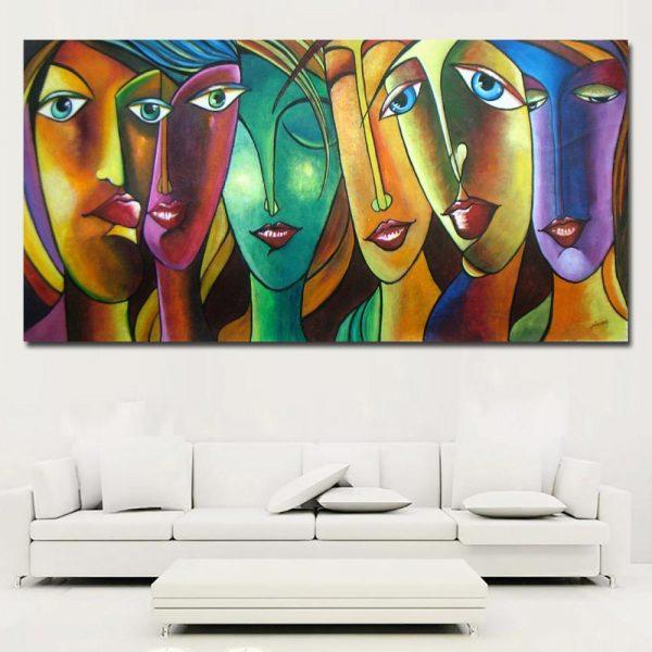 canvas painting qatar