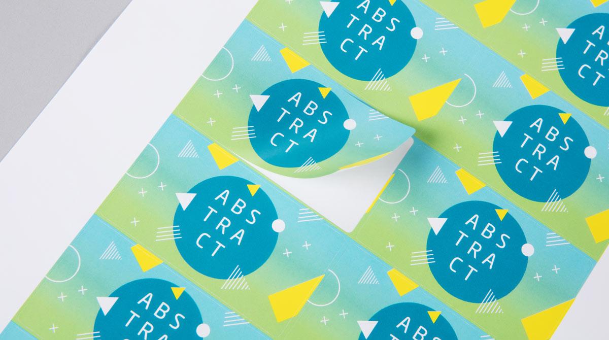 sticker printing in Qatar